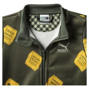 Thumbnail 3 of PUMA x TINYCOTTONS Classic Full Zip Jacket, Thyme, medium