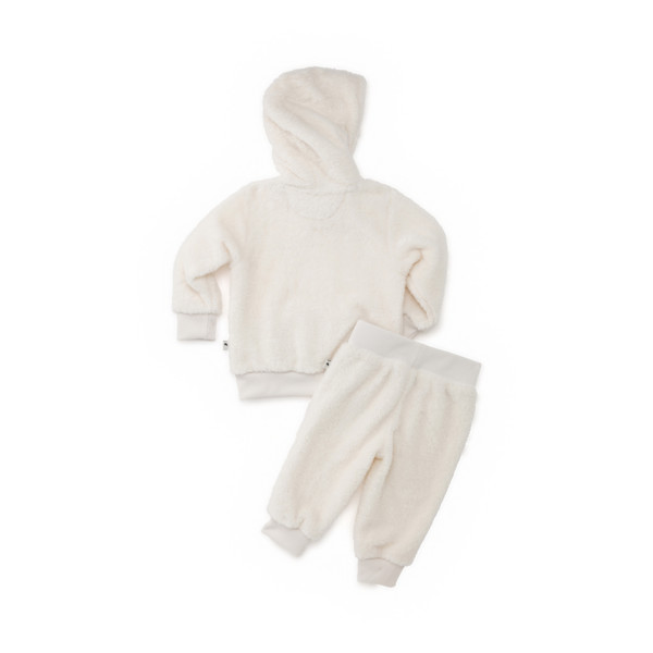 PUMA x TINYCOTTONS Classic Sherpa Suit, Whisper White, large