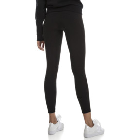 Thumbnail 2 of Fusion Women's Leggings, Cotton Black, medium