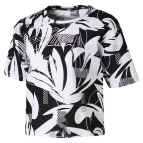 Thumbnail 1 of Alpha Mädchen T-Shirt, Cotton Black, medium