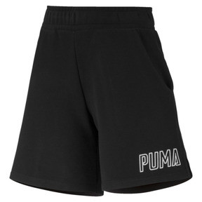 Thumbnail 4 of Athletics Women's Sweat Shorts, Puma Black, medium