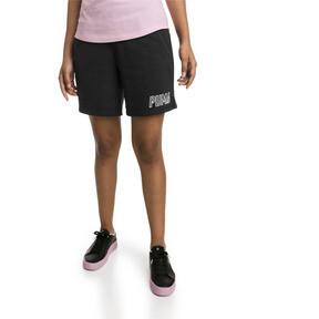 Thumbnail 1 of Short en sweat Athletics pour femme, Puma Black, medium