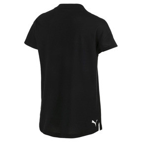 Thumbnail 2 of Modern Sports Tee, Cotton Black-White, medium