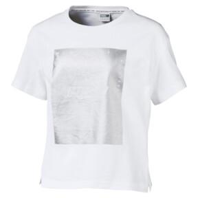 Thumbnail 1 of T-Shirt TZ pour fille, Puma White, medium