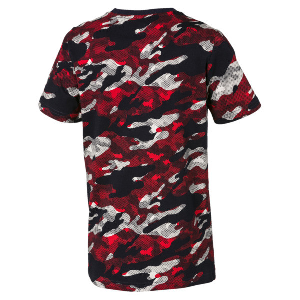 Classics Boys' Tee, High Risk Red, large