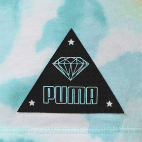 Thumbnail 2 of キッズ PUMA x DIAMOND Tシャツ AOP, ARUBA BLUE-AOP, medium-JPN