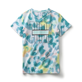 Thumbnail 1 of キッズ PUMA x DIAMOND Tシャツ AOP, ARUBA BLUE-AOP, medium-JPN