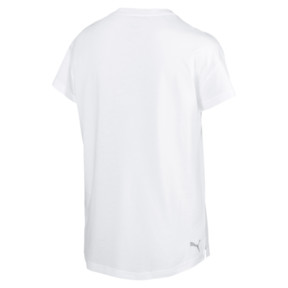 Thumbnail 3 of Modern Sports Graphic Tee, Puma White-Silver, medium