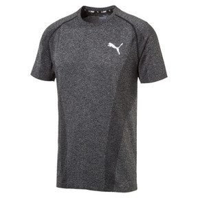 Thumbnail 1 van EvoKNIT T-shirt voor mannen, Puma Black, medium
