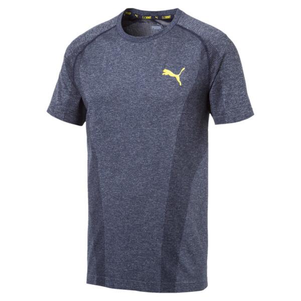 EvoKNIT T-shirt voor mannen, Nachtblauw, large