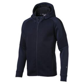 Thumbnail 1 of EVOstripe Hybrid Men's Hooded Jacket, Peacoat, medium