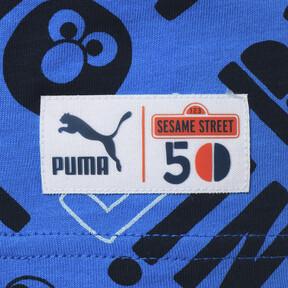 Thumbnail 6 of キッズ PUMA x SESAME STREET SS AOP Tシャツ B (半袖), Indigo Bunting, medium-JPN