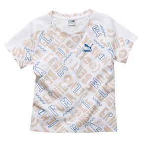 キッズ PUMA x SESAME STREET ガールズ SS AOP Tシャツ (半袖)