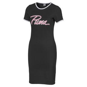 Thumbnail 1 of Bodycon Women's Ringer Dress, Puma Black, medium