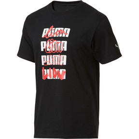 Thumbnail 1 of Basketball Lion Tee #1, Puma Black, medium