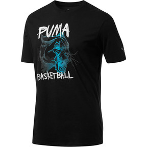 Thumbnail 1 of Uproar Cat Men's Tee, Puma Black, medium