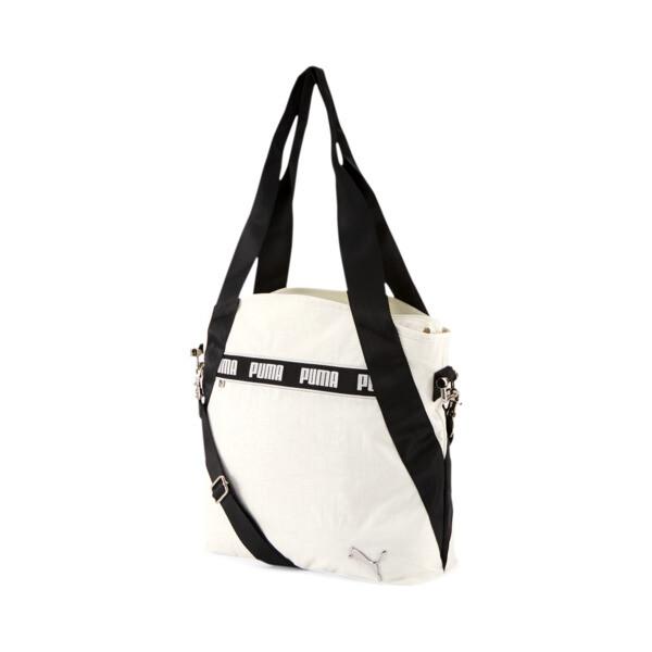 puma sonora tote bag in grey/black