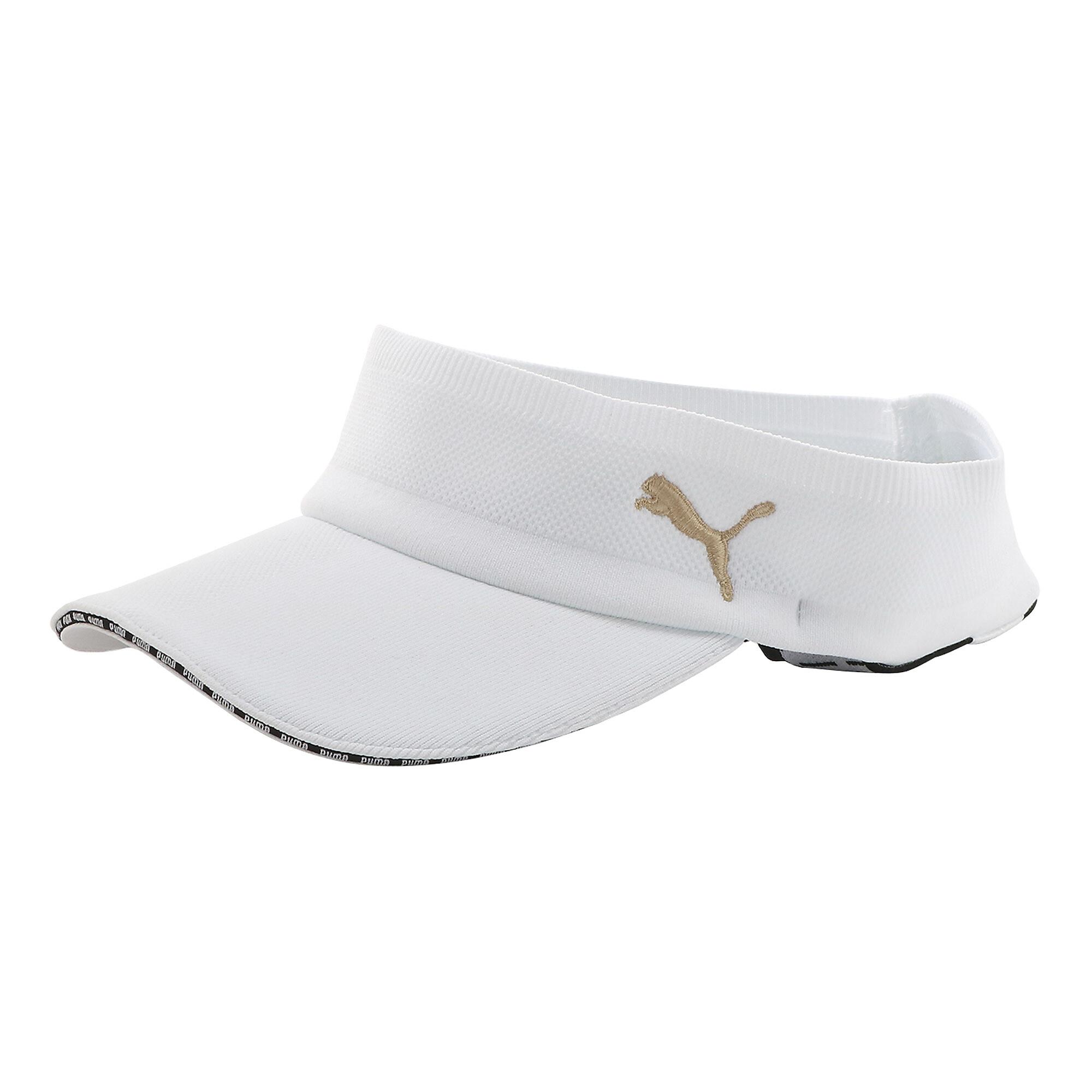 プーマ ゴルフ ウィメンズ サマーニット バイザー ウィメンズ Bright White |PUMA.com
