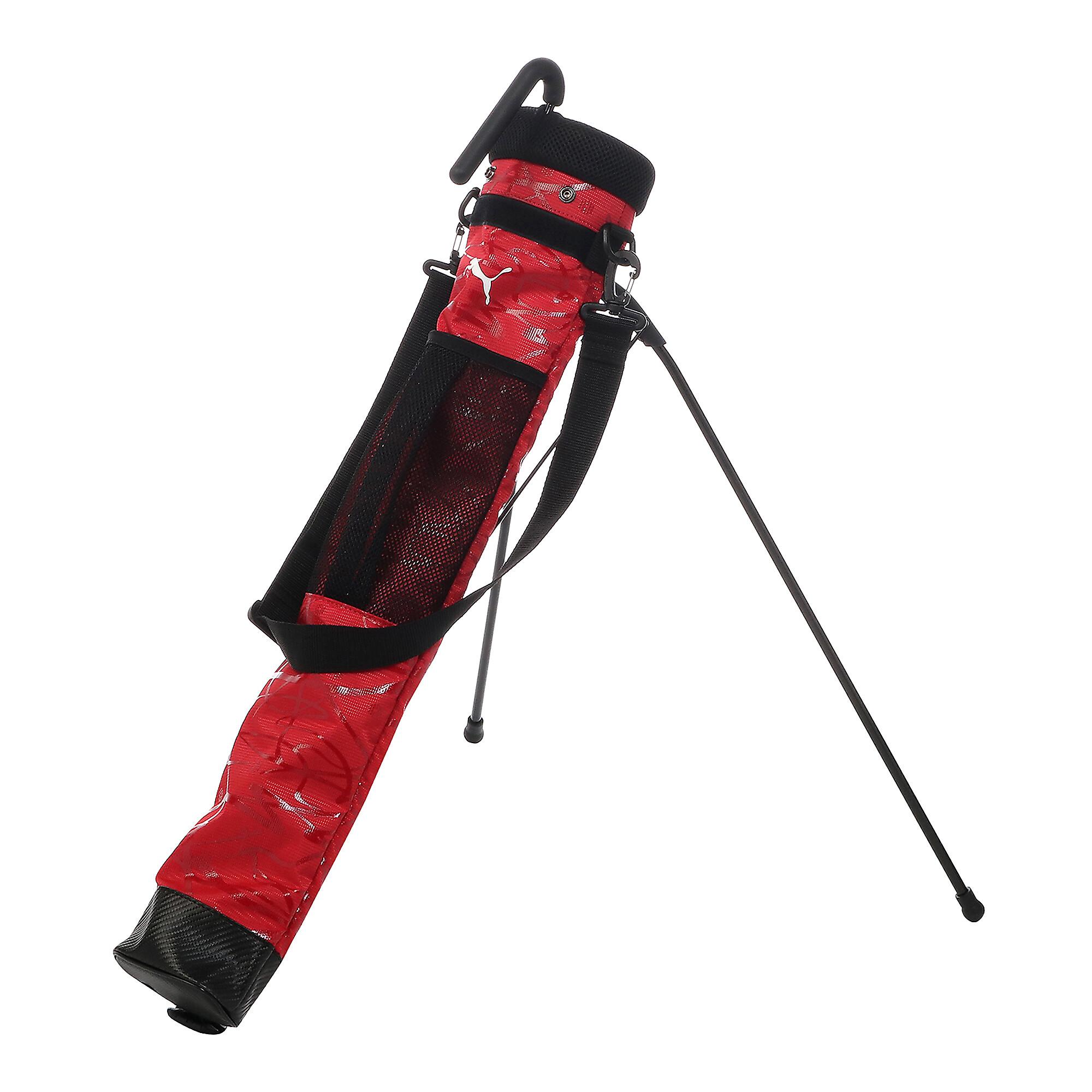 プーマ ゴルフ セルフ スタンド キャリーバッグ メンズ high risk red |PUMA.com