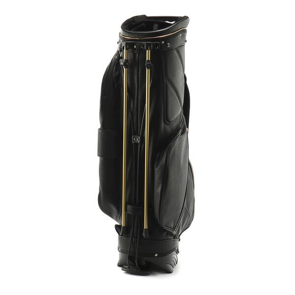 ゴルフ キャディバッグ ヘリテージ, Puma Black / Gold, large-JPN