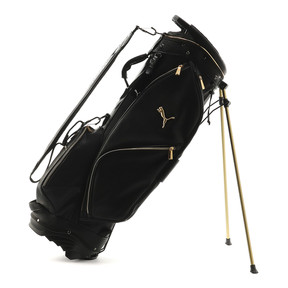 Thumbnail 5 of ゴルフ キャディバッグ ヘリテージ, Puma Black / Gold, medium-JPN