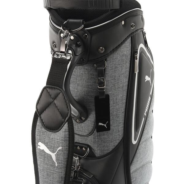 ゴルフ キャディバッグ フュージョン, Puma Black / Medium Gray hea, large-JPN
