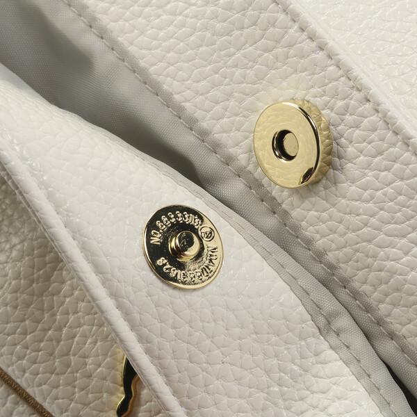 ゴルフ ボストンバッグ ヘリテージ, Bright White / Gold, large-JPN