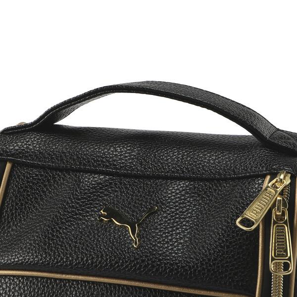 ゴルフ シューズケース ヘリテージ, Puma Black / Gold, large-JPN