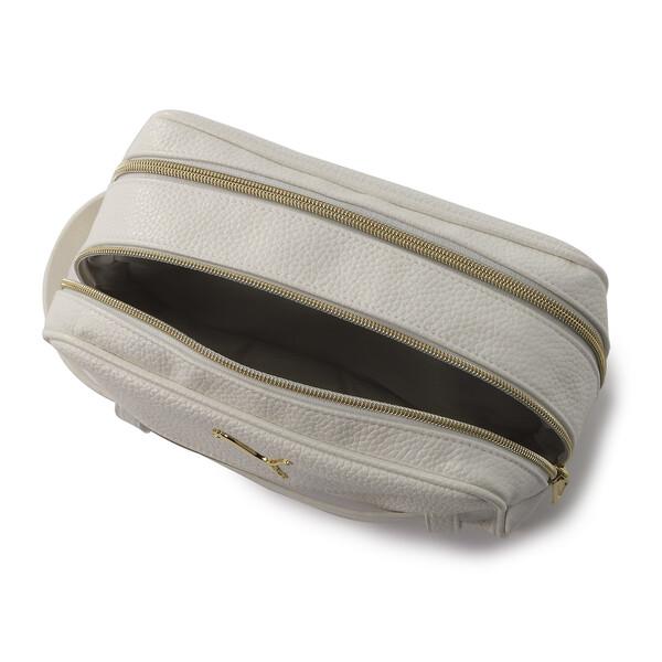 ゴルフ マルチポーチ ヘリテージ, Bright White / Gold, large-JPN