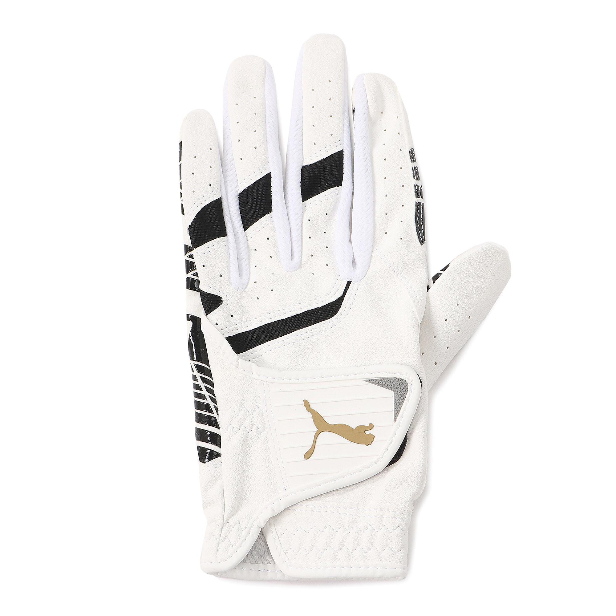 【プーマ公式通販】 プーマ ゴルフ パウンス グリップ グローブ 左手用 メンズ BRIGHT WHITE-PUMA BLACK |PUMA.com