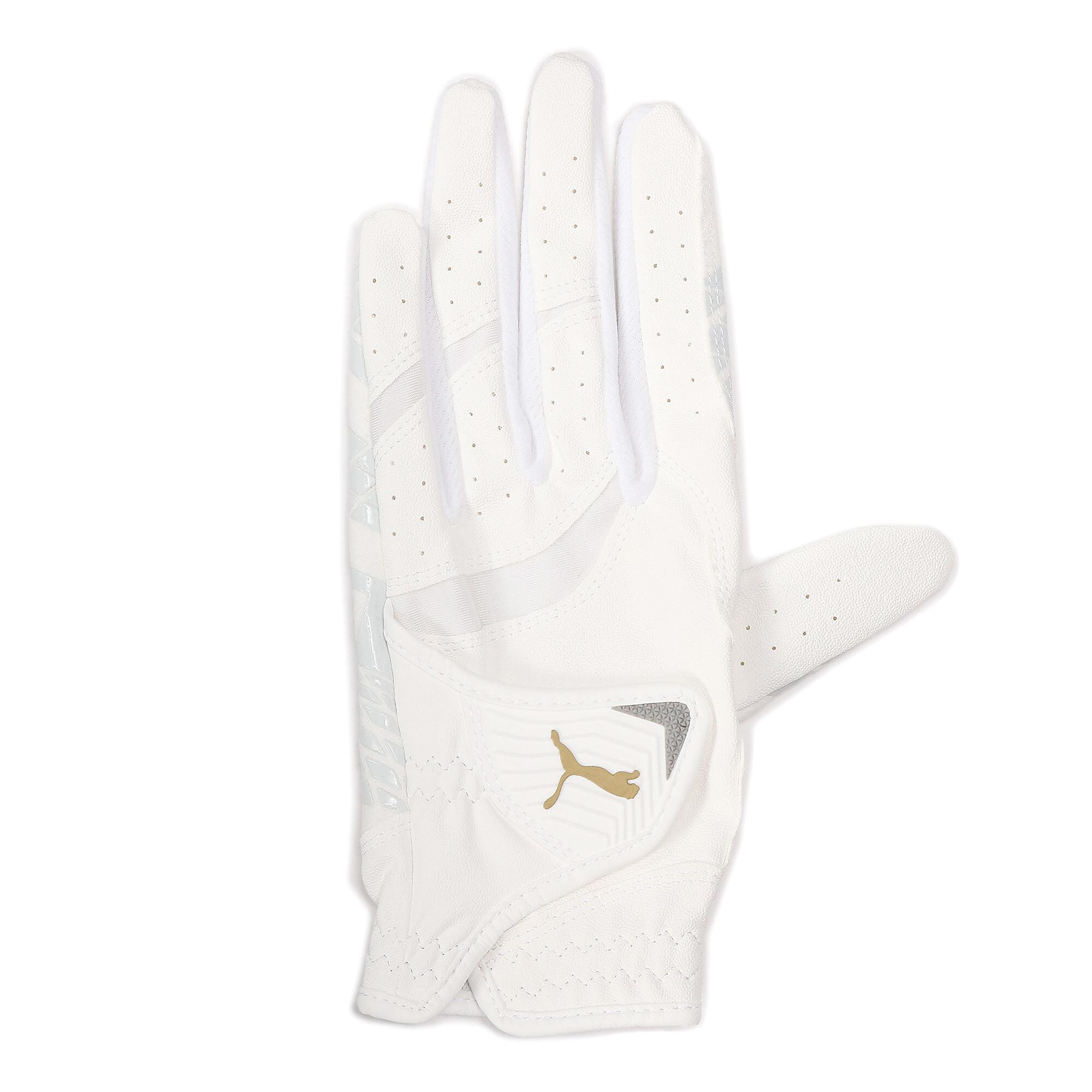 【プーマ公式通販】 プーマ ゴルフ ウィメンズ パウンスグリップ グローブ 左手用 ウィメンズ BRIGHT WHITE-BRIGHT WHITE |PUMA.com
