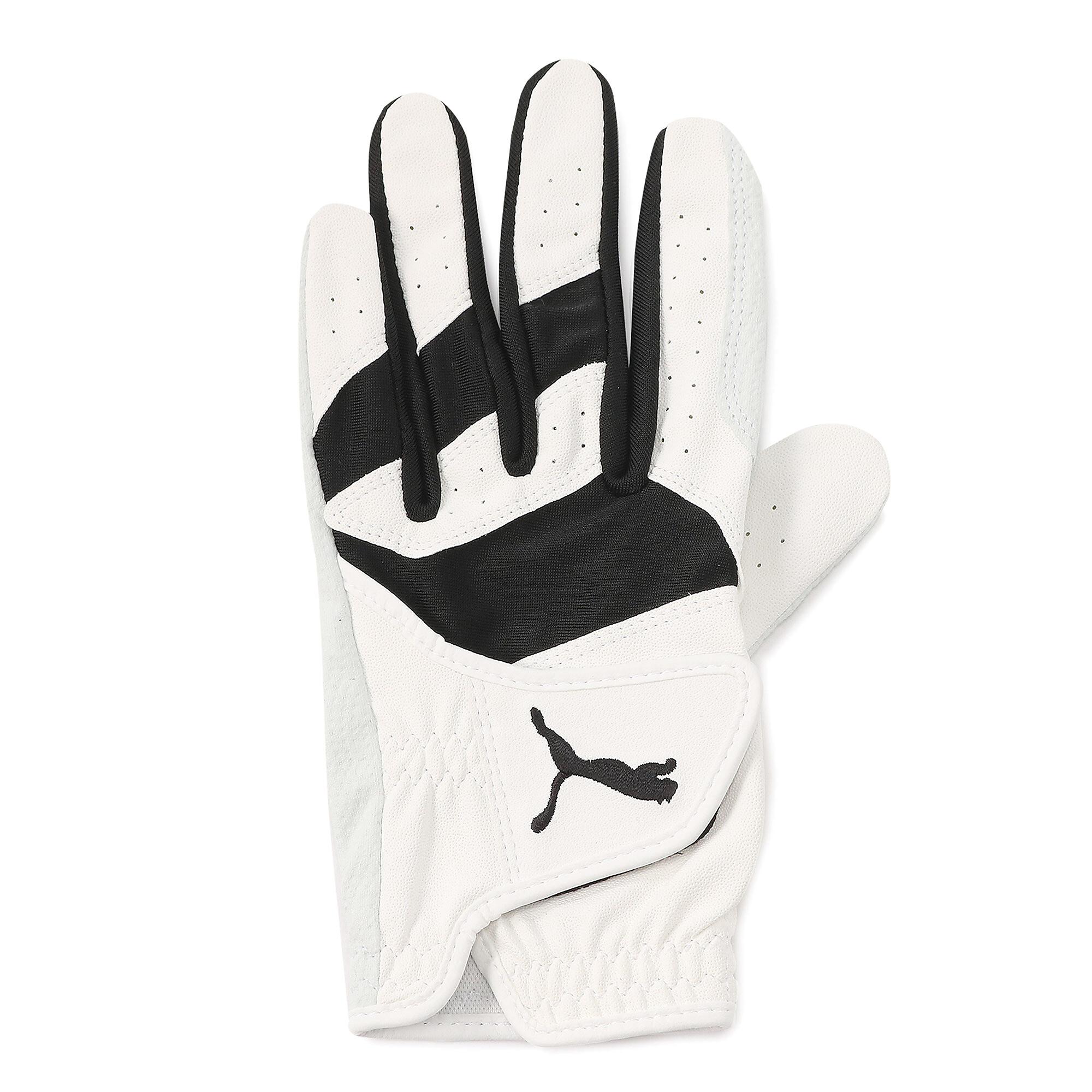 【プーマ公式通販】 プーマ ゴルフ フュージョン グリップ グローブ 左手用 メンズ Bright White-Puma Black |PUMA.com