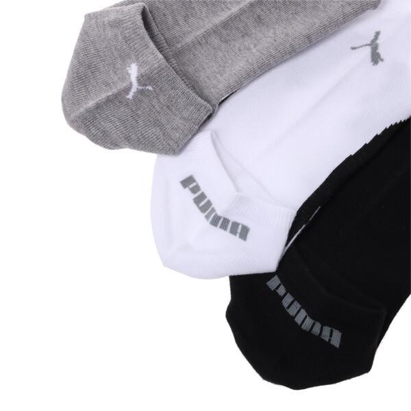 スニーカー ソックス(3足組), white-grey-black, large-JPN