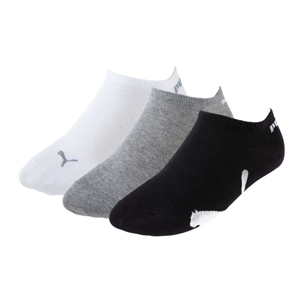 Image Puma Lifestyle Trainer Socks 3 Pack #1