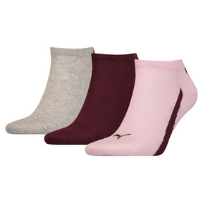 Thumbnail 1 of Lot de trois paires de chaussettes pour basket Lifestyle, pink / purple / grey, medium