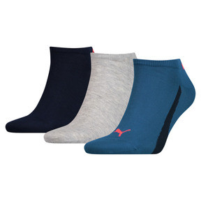 Thumbnail 1 of Lot de trois paires de chaussettes pour basket Lifestyle, blue / navy, medium