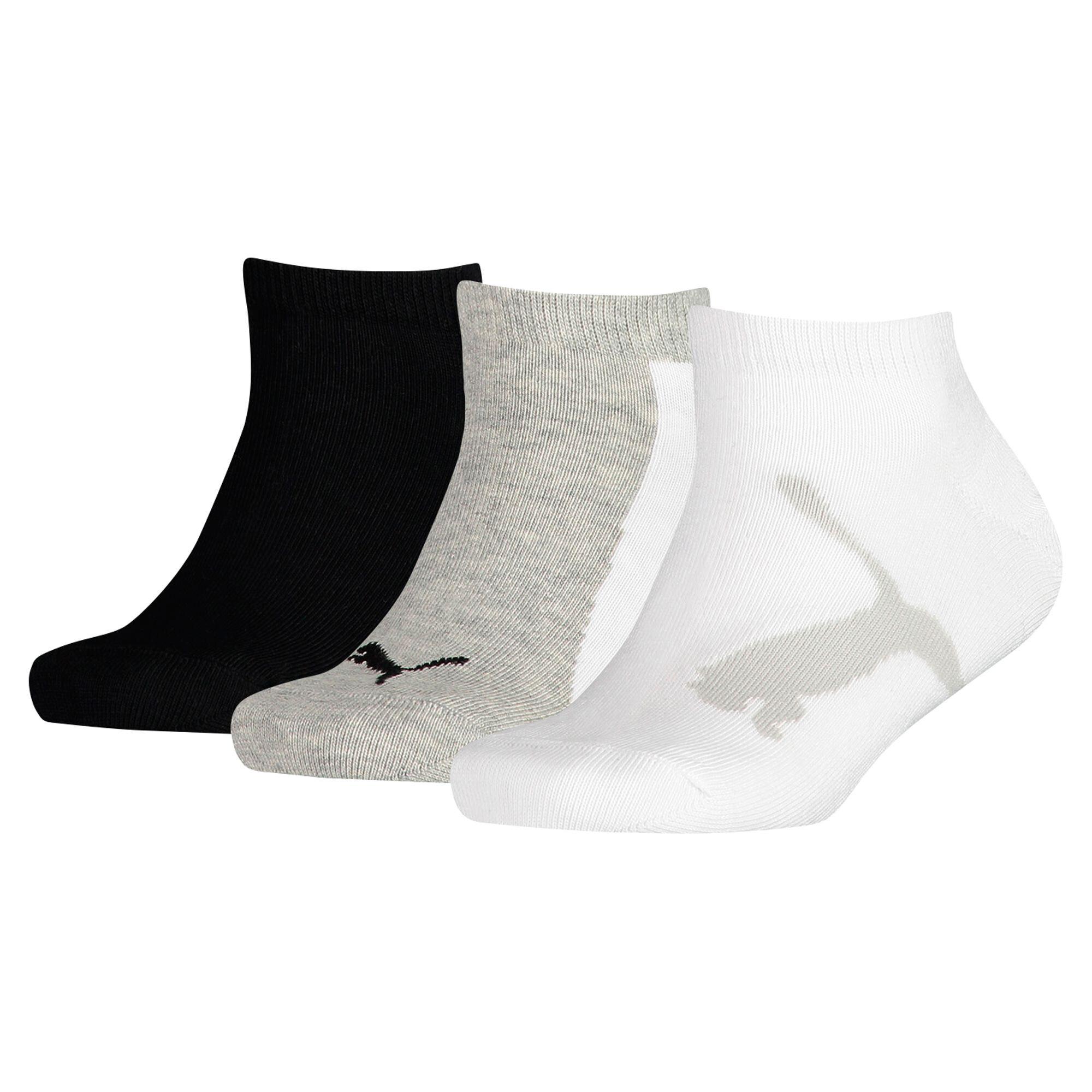 Image Puma Kids' Lifestyle Trainer Socks 3 Pack #1