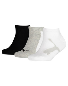Image Puma Kids' Lifestyle Trainer Socks 3 Pack