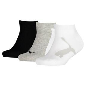 Imagen en miniatura 1 de Pack de 3 pares de calcetines de niño Lifestyle Trainer, blanco-gris-negro, mediana
