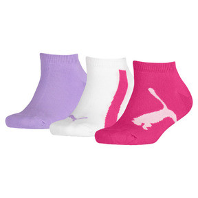 Thumbnail 1 of Lot de trois paires de chaussettes pour basket Lifestyle pour enfant, beetroot purple-white-purple, medium