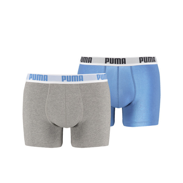 d636e928f9 Boxer Shorts 2er Pack   blue-grey   PUMA Neue Styles   PUMA Deutschland