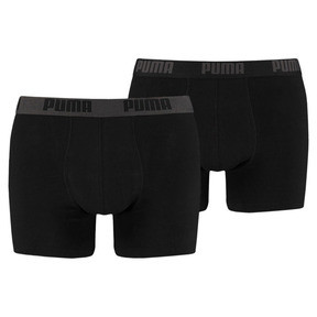 Thumbnail 1 of Basic Short Boxer  2 Pack, black / black, medium