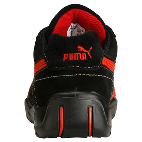 Thumbnail 3 of S1P HRO Moto Protect Safety Shoes, black-red, medium