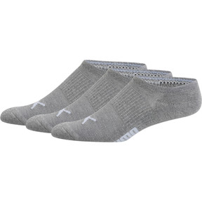 Thumbnail 1 of Men's Invisible No Show Socks [3 Pack], LT PASTEL GREY, medium