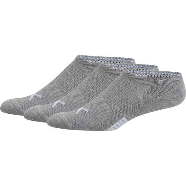 Men's Invisible No Show Socks [3 Pack], 07, large