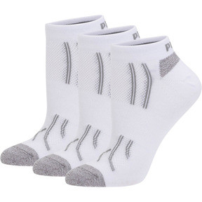 Thumbnail 1 of Modal Women's Low Cut Socks (3 Pack), white-steel grey, medium