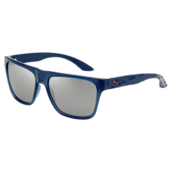 573f22db9 exo600 - Usain Bolt Signature Collection Men's Sunglasses,  BLUE-BLUE-SILVER, large. ‹ ›