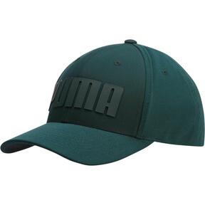 Thumbnail 1 of Mono Cubic Trucker Hat, Dark Green, medium