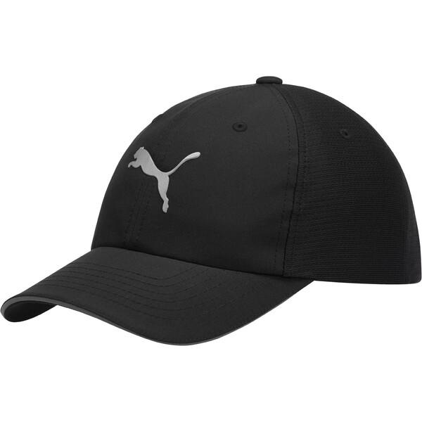 Mesh Running Hat, black, large