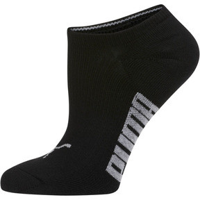 Thumbnail 3 of Women's Invisible No Show Socks (3 Pack), white-black-light heather gr, medium